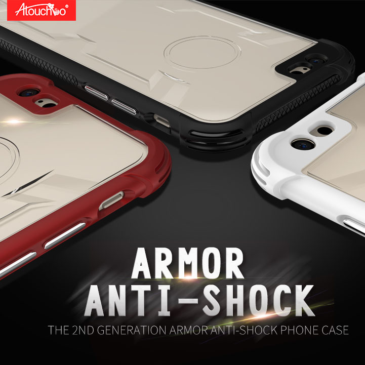 iPhone 7 / 8 King Kong Armor Shockproof Transparent Back Cover