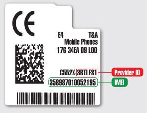 Alcatel Provider ID